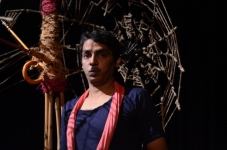 Anand Sami as the Poet